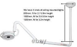 Plafond De 36w Monté Médical Dentaire Chirurgie Led Examen Lumière Shadowless Lamp Us Ce