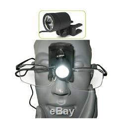 Portable Led Head Light Lampe De Laboratoire Dentaire Chirurgical Médical Loupe Avec Clip Binocular