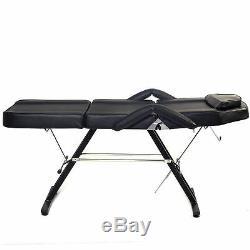 Portable Medical Dentaire Réglable Chaise Withstool Noir Combinaison