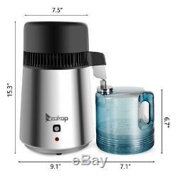 Purificateur Filtre Pur 4l Distillateur Hôpital Countertop Médical Dentaire 750w
