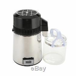 Réglable Pur Distillateur 4l Électrique Dentaire / Médical / Laboratoire Accueil Distiller Vin
