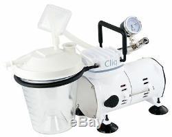 Roscoe Cliq Dentaire Médicale Robuste Aspiration Machine Cf608 Nouveau Aspirator