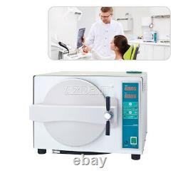 Stérilisateur À Vapeur À Autoclave Dentaire 18l Stérilizition Médicale Avec Fonction De Séchage