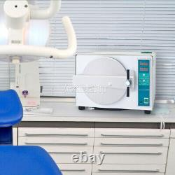 Stérilisateur À Vapeur Clinique Autoclave Dentaire De Type Séchage 18l Stérilizition Médicale