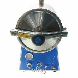 Stérilisateurs Dental 24l Stainless Steel High Pressure Steam Medical Autoclave