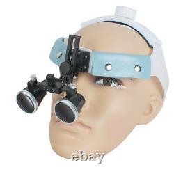 Surgical 3.5x-r Dentaire Bandeau Médical Loupes Binoculaires Loupe Led Headlight