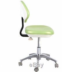 Tabouret De Tabouret De Dentiste Dentaire Médicale Docteur Réglable Chaise Mobile En Cuir Pu