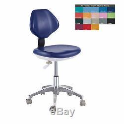 Tabourets En Cuir Pu Assistant De Réglage Mobile Chaise Dentaire Unité Médicale Docteur