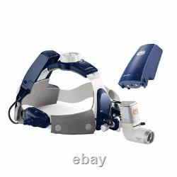 Tout-en-un 5w Led Dental Surgical Medical Headlight With 4x Loupes & 2 Batteries