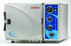 Tuttnauer 2540m Autoclaves Stérilisateur 10 X 19 Chambre Vétérinaire Dentaire Médicale Fda 510k