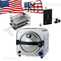 Up Dental Autoclave Steam Sterilizer Medical Sterilization Lab Equipment 14l Fda