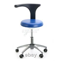 Us Dental Medical Doctor Assistant Tabouret Mobile Coupe Réglable Chaise D'examen Dentaire