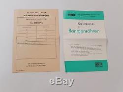Vintage Dental Rorix Allemagne Médical X-ray Tube Ge200 / 5o Nos / Nib