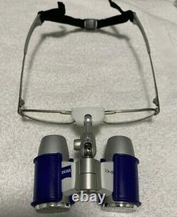Zeiss Eyemag Dental Medical Binocular Loupes, Nouveau (3.3x/450mm)
