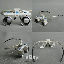 Zumax Cadre Titane Dentaire Loupes Binoculaires Grossissement Médical Chirurgical